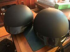 New ListingHarley-Davidson Midway Matte Black His & Hers Half Helmets Size Small & Xl
