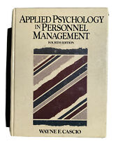 Applied Psychology in Personnel Management by Wayne F. Cascio (1990, Hardcover)