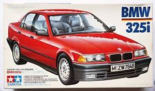 TAMIYA 1/24 BMW 325i Sports car #24106 model kit *Box & decal aged condition