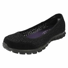 Leather Medium Width (B, M) Slip On Floral Shoes for Women