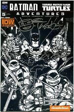 Batman TMNT Adventures #5 Kevin Eastman Signed Remark Sketch Variant Cover IDW