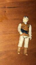 Vintage 1980 Kenner Star Wars: Hoth Rebel Soldier Complete Weapon: Hong Kong