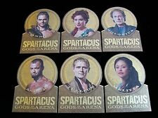 2012 SPARTACUS TRADING CARDS GODS OF THE ARENA GOLD MEDAL DIE CUT 6 CARD SUBSET