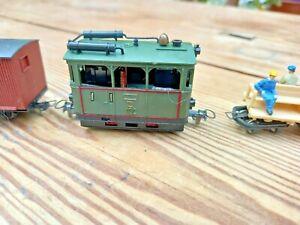 OO9  GAUGE, EGGER BAHN Tram Locomotive HOe OO9 Gauge, tested