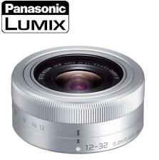 NEW ! PANASONIC LUMIX G VARIO 12-32mm F3.5-5.6 ASPH Lens SILVER Pancake Lens NEW