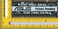 Asus SLI Selector Chip Dual Video Switch