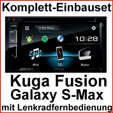Komplett Set Ford Fusion Galaxy S-Max Kenwood DDX-317BT Bluetooth CD USB MP3 DVD