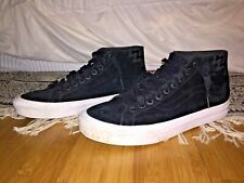 VANS Vintage Mid-top, Black/White, Men's Size 10