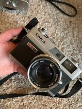 Canon Canonet Ql17 G-Iii 35mm Film Rangefinder Camera