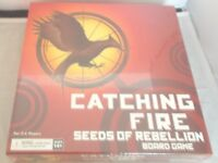 Catching Fire Seeds of Rebellion Board Game - Rare OOP Wizkid - 2013 NEW