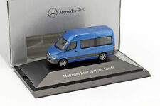 Mercedes-benz Sprinter Break Südsee Bleu Métallique 1 87 Herpa