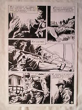 A L'ARME BLANCHE  SPECTACULAIRE PLANCHE GEANTE ELVIFRANCE  PAGE 14
