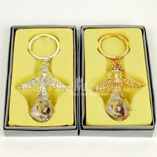 First Communion Favors Girl Angel Keychain Giveaways Recuerdos de Comunion Nina