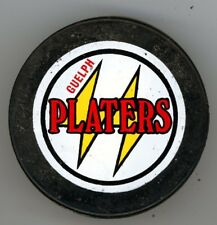VINTAGE FULL SIZE PUCK GUELPH PLATERS OHL ONTARIO HOCKEY LEAGUE