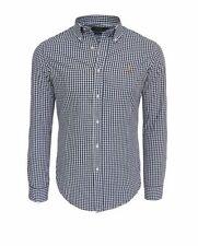 Ralph Lauren klassische Slim Fit-Herrenhemden aus Baumwolle
