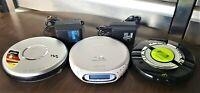 Sony Walkman Bundle! 3 Sony Walkman players with 2 brick chargers! Tested and wo