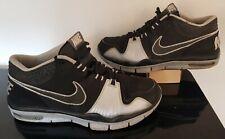 09 Nike Trainer 1 Bo Jackson Knows Raiders Black Silver 371378-007 3M TAPE 10.5