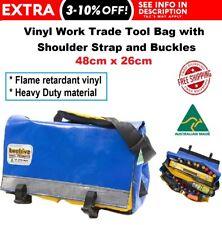 BEEHIVE Vinyl Trade Work Tool Bag Heavy Duty AUSTRALIAN MADE Electrician Plumber