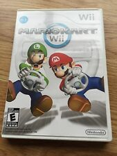 Mario Kart Wii Nintendo Wii Case Manual & Disc TESTED NG2