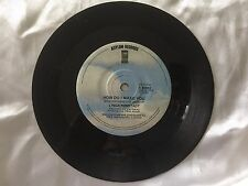 Linda Ronstadt, How Do I Make You, Rambler Gambler, 1980 Vinyl Record 45 RPM 7""