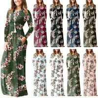 Women's Boho Beach Summer Dress Floral Strappy Dresses Bohemia Ladies  Holiday