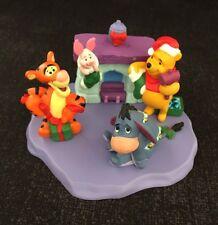 Hallmark Merry Miniatures  - Set of 4 -  Christmas At Pooh's House 1999  NIB