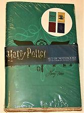 Harry Potter Set of 4 Pocket Notebooks Journal Diary New NOS 2017 Sealed