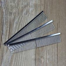 Pet Dog Cat Metal Double Row Teeth Grooming Hair Comb Brush Fur Rake Tool