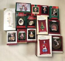 Hallmark Keepsake Ornaments Lot Of 14 Barbie Touchdown Santa Let It Snow