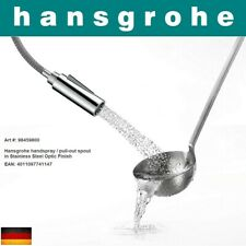 Hansgrohe 98459800 handspray/pull-out spout in Stainless Steel Finish NIB