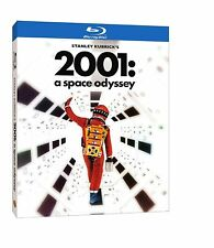 2001: A Space Odyssey (Blu-ray Disc, 2018, Re-Mastered) w/slipcover, New!