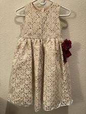 Cinderella Couture Party Dress Lined Tooling Girl's Size 10