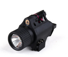 Hunting Airsoft Glock 17 19 22 20 23 31 LED Flashlight Torch Light Laser Aiming