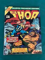 The Mighty Thor  - Marvel Treasury 10 Very Fine- (7.5)  -  White Pages