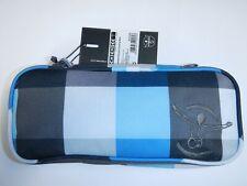 CHIEMSEE Federmappe Federmäppchen Federtasche Schlamperrolle grau blau weiß