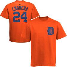 Miguel Cabrera #24 Majestic MLB JERSEY/SHIRT Tigers Orange YOUTH Large/L 14-16