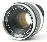 *Rare* Yashica Auto Yashinon-DX 1:2 50mm Lens M42 *As Is* #SW04a
