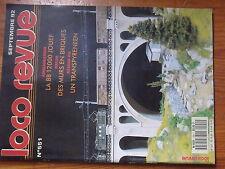 $$v Loco-Revue N°551 BB 12000 Jouef  murs en briques  Transpyreneen  pont