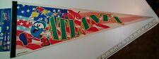 1996 Atlanta Olympics Izzy PENNANT 30x12 - VTG Wincraft NOS USA! ATLANTA