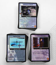 Babylon 5 CCG Wheel of Fire Complete Set of 48 Rare R2 Cards 50 U/C & 50 C M/NM