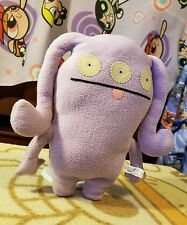 "2011 Uglydoll Approx 10"" Quippy Purple Lavendar Citizen of Uglyverse Plush 42404"