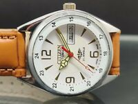 Vintage Citizen Automatic Day-Date Stainless Steel Movement No.8200 Men's Watch