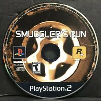 Smuggler's Run (Sony PlayStation 2, 2002) PS2 Disc Only