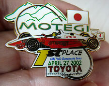 PIN'S F1 FORMULA ONE USA CART FEDEX SERIES 2002 MOTEGI TARGET TOYOTA EGF MFS