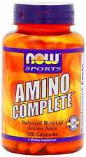 Amino Complete, 120 Capsules by NOW Sports