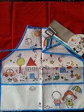 Tablier enfant peinture ou cuisine ,1 tablier 2 poches pour enfant des 3 ans