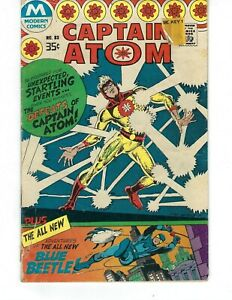 Captain Atom #83 - First appearance of Ted Kord (second Blue Beetle)!