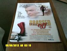 Brassed off (Ewan McGregor, Pete dilucidaron) 2 lados Movie Poster A2
