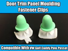 10x Clips For VW Golf V Caddy Polo Passat B5 Door Trim Panel Moulding Fastener