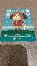Animal Crossing Amiibo Cards: Series 1 Digby 009 Special Card